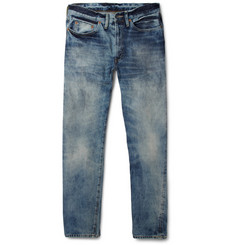 Levi's Vintage Clothing 1954 501Z Straight-Leg Bleached Selvedge Denim Jeans