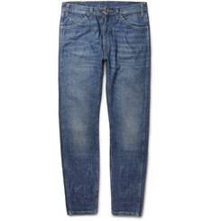 Levi's Vintage Clothing 1960 605 Slim-Fit Washed-Denim Jeans