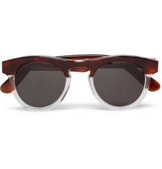 Illesteva Harrison Two-Tone Acetate Sunglasses