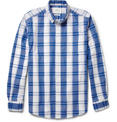 Saturdays Surf NYC Crosby Plaid Cotton Shirt