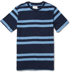 Saturdays Surf NYC Randall Striped Cotton-Jersey T-Shirt