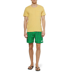 Saturdays Surf NYC Mid-Length Printed Swim Shorts