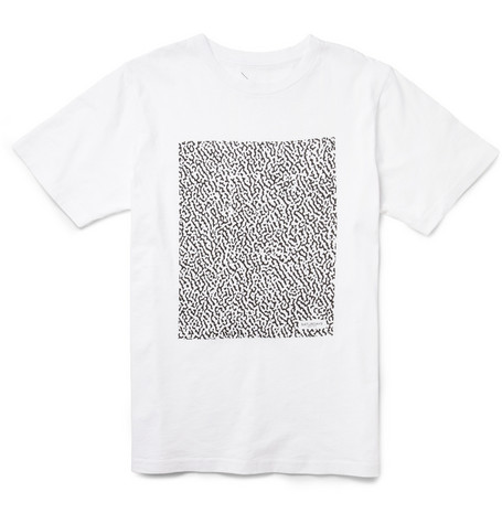 Saturdays Surf NYC Notebook Printed Cotton-Jersey T-Shirt