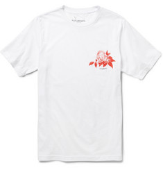 Saturdays Surf NYC Flower Cotton-Jersey T-Shirt