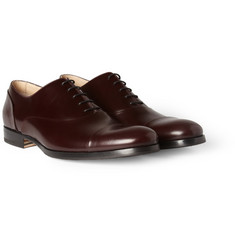 Mr. Hare Miller High-Shine Leather Oxford Shoes