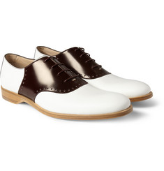 Mr. Hare Jerry Lee Leather Saddle Shoes