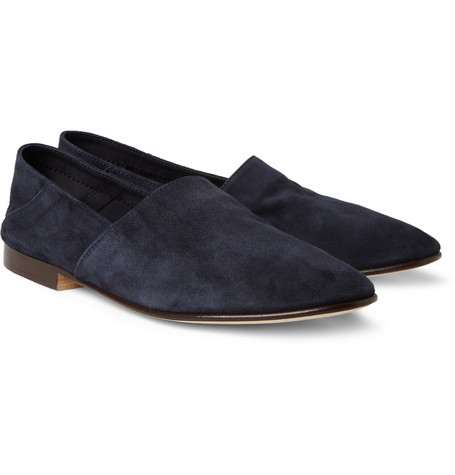 Mr. Hare Suede Slippers