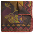 Etro - Printed Silk Pocket Square