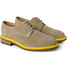 Mark McNairy Contrast-Welt Suede Derby Shoes