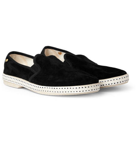 Rivieras Suede Slip-On Shoes