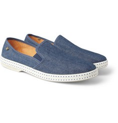 Rivieras Denim Slip-On Shoes