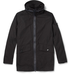 Stone Island Ghost Water-Resistant Cotton Hooded Jacket