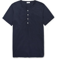 Schiesser Cotton Henley T-Shirt