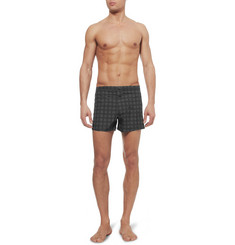 Dan Ward Printed Short-Length Lightweight Swim Shorts
