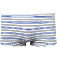 Dan Ward Short-Length Striped Swim Shorts