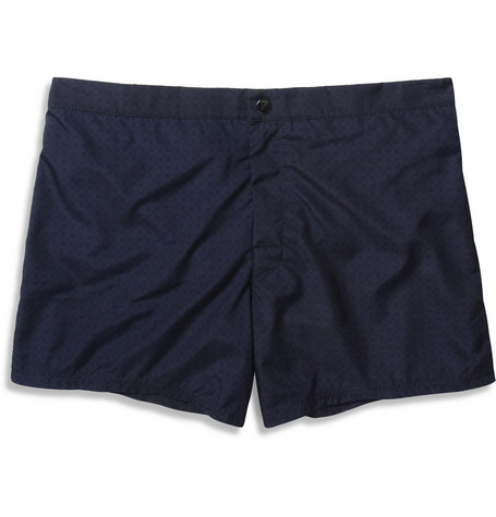 Dan Ward Printed Mid-Length Lightweight Swim Shorts