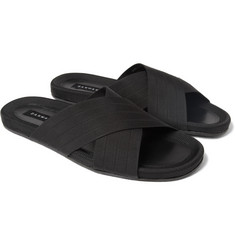 Dan Ward Rubber-Sole Sandals