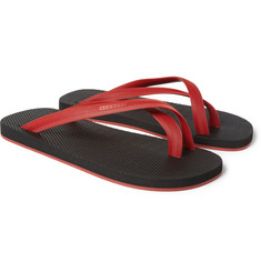Dan Ward Two-Tone Flip Flops