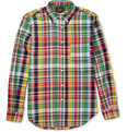 Woolrich Woolen Mills - Madras-Check Cotton Shirt
