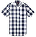 Woolrich Woolen Mills - Buffalo-Check Short-Sleeved Cotton Shirt