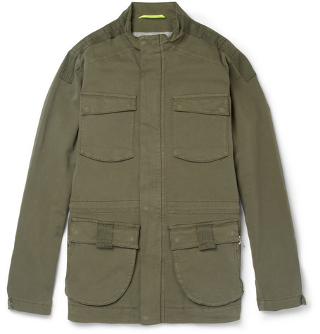 Lot78 Cotton-Blend Field Jacket