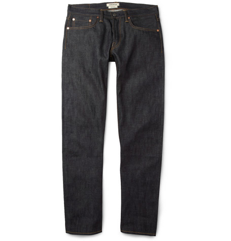 Simon Miller Los Angeles Regular-Fit Dry Selvedge Denim Jeans