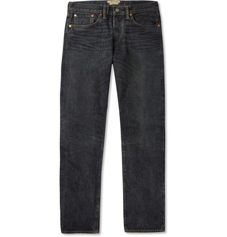 Simon Miller Hyperion Regular-Fit Washed Selvedge Denim Jeans
