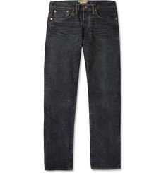 Simon Miller Hyperion Slim-Fit Washed Selvedge Denim Jeans