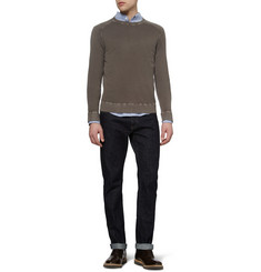 Massimo Alba Lightweight Crew Neck Cashmere Sweater