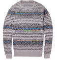 Massimo Alba Striped Cotton Sweater
