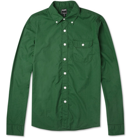 Todd Snyder Button-Down Collar Cotton Shirt