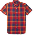 Todd Snyder - Plaid Cotton Short-Sleeved Shirt