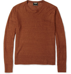 Todd Snyder Knitted Linen Crew Neck Sweater