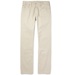 Todd Snyder Slim-Fit Washed Selvedge Denim Jeans
