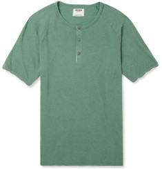 Todd Snyder Cotton-Jersey Henley T-Shirt
