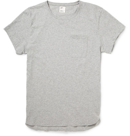 Jean.Machine Pocket-Front Cotton-Jersey T-Shirt