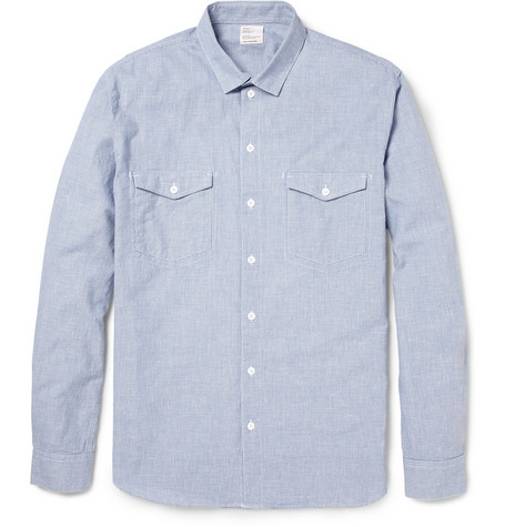 Jean.Machine Small Houndstooth Check Cotton Shirt