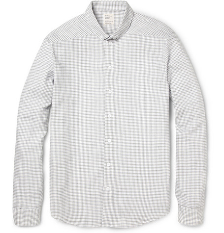 Jean.Machine Bank Check Cotton Shirt