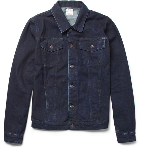 Jean.Machine J.M-4 Slim-Fit Overdyed-Denim Jacket