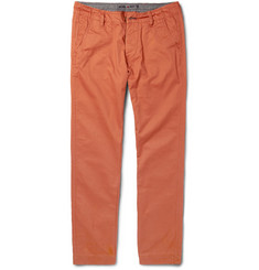 NN.07 Simon Slim-Fit Cotton-Twill Trousers