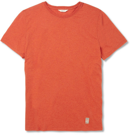 NN.07 Todd Cotton Crew Neck T-Shirt