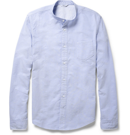 NN.07 Samuel Washed-Cotton Oxford Shirt