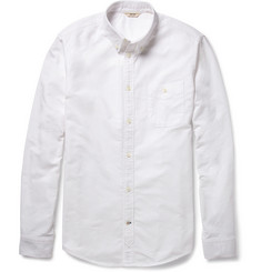 NN.07 Derek Washed-Cotton Oxford Shirt
