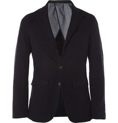 NN.07 Johan Club Slim-Fit Cotton-Blend Blazer