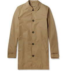 NN.07 Alfred Cotton-Blend Rain Coat