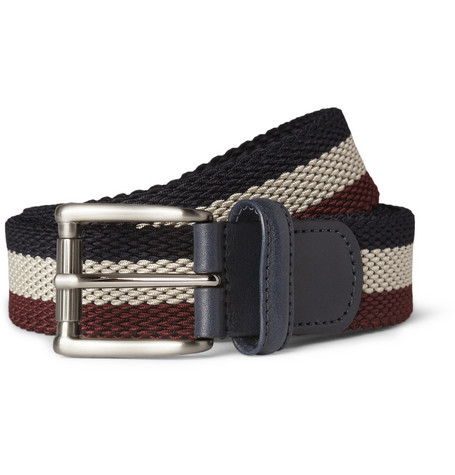 Anderson's Striped Woven Belt