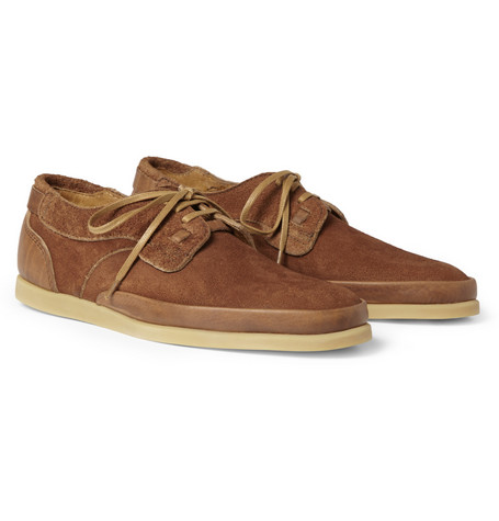 Folk Alaric Suede and Leather Sneakers
