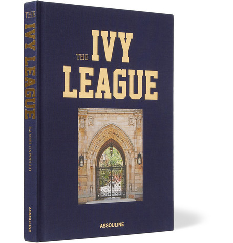 Assouline The Ivy League by Daniel Cappello Hardcover Book