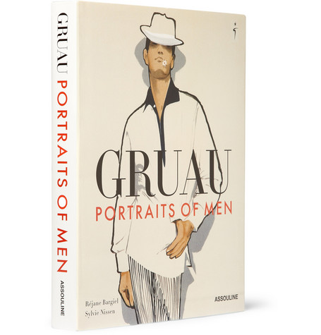 Assouline Gruau: Portraits of Men by Réjane Bargiel Hardcover Book