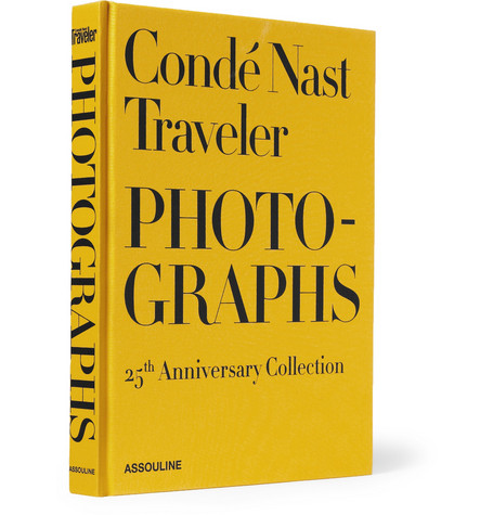 Assouline Conde Nast Traveler Photographs 25th Anniversary Collection Hardcover Book